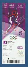 Orig.Ticket   Olympische Spiele LONDON 2012 - Leichtathletik 09.08./ 4 Finals !!