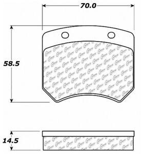 Disc Brake Pad Set Front Centric 102.00050 fits 1964 Austin Mini Cooper