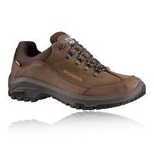 Scarpa Cyrus Mens Brown Water Resistant Gore Tex Walking Hiking Shoes 2fe33c89316