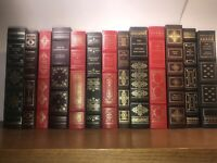 FRANKLIN LIBRARY 13 Books Faux Leather Easton Press