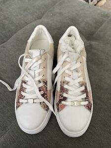 moda in pelle trainers White/pink Size 6