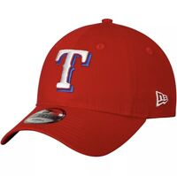 Texas Rangers New Era Core Fit Replica 49FORTY Fitted Hat - Red XL Extra Large