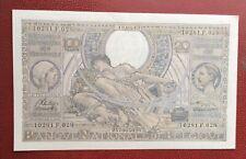 Belgique -  Magnifique  Billet de 100 Francs/20 Belgas 19-03-1943  (3)