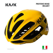 NEW 2020 Kask PROTONE Road Cycling Helmet : TEAM INEOS TOUR DE FRANCE YELLOW