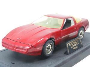 Majorette Diecast 4202 Chevrolet Corvette Coupe Red 1 24 Scale Boxed