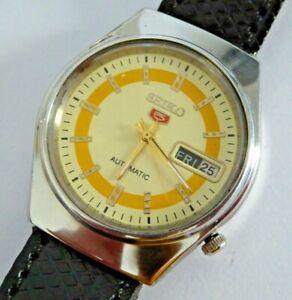 Gent's Vintage Seiko 5 Automatic Mechanical Wristwatch 6309-8940