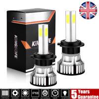 2X 4-side H1 H4 H7 H11 LED Headlight Fog Lights 188W 18800LM 6000K Canbus Free