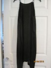 NEW w tags LC Lauren Conrad Halter Slip Dress Black Size M Medium Lined