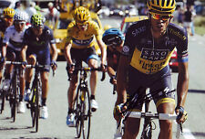 Alberto Contador - Autographed - Signed 8X12 inches 2013 Tour De France Photo