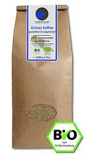 Grüner Kaffee Bio gemahlen - Rohkaffee Honduras 1kg - Green Coffee Abnehmen Diät
