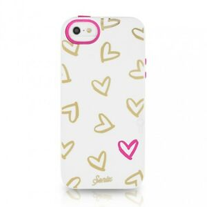 Sonix Lenntek Inlay Hard Case Cover Shell for Apple iPhone 5 & 5S - Hearts