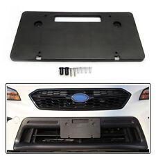 License Plate Bracket Kit for Subaru WRX Forester Crosstrek Round Bumper Holes