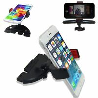 Car CD Dash Slot Mount Holder Cradle for iPhone Cell Phone Samsung iPhone