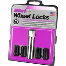 McGard Tuner Lock Set Black 12x1.25mm Set/4 for Subaru & Nissan   25354