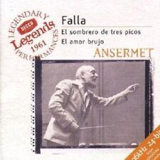 ERNEST/OSR ANSERMET - SOMBRERO/AMOR BRUJO/VIDA BREVE  CD NEW+