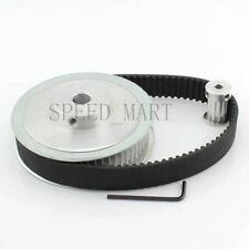 5M HTD5M 60T 10T Belt Width 20mm Timing Pulley Belt set kit Reduction Ratio 6:1