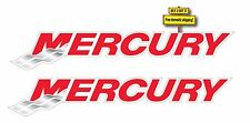 """Pair (2) of Mercury Marine Boating Fishing Decals/Stickers 8"""" Outboard Motor"""