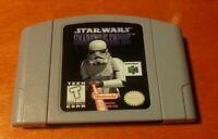 Star Wars Shadows of the Empire Nintendo 64 N64 LucasArts , Walt Disney Company