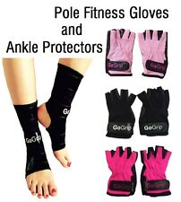 GoGrip Pole Dance Fitness Gloves, Ankle Protectors, Grip x