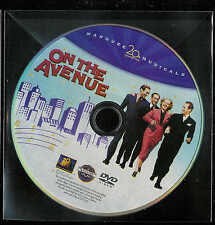 On The Avenue (DVD) Dick Powell Alice Faye -  NM disc - But No Case