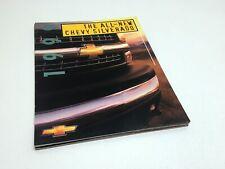 1999 Chevrolet Silverado Pickup Preview Brochure
