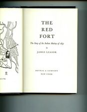 THE RED FORT - Story of the Indian Mutiny of 1857, James Leasor, 2nd US HBdj VG