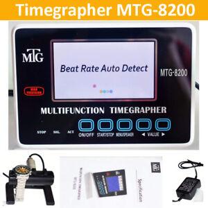 MTG8200 Multifunktions Touchscreen Timegrapher Mechanischer Zeitnehmer Tester