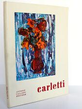Carletti. Renzo MODESTI. Antonio Vallardi 1959. / ENVOI de Carletti.