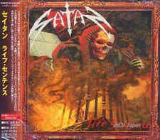 SATAN - Life Sentence +2 / Japan OBI New CD 2013 / Heavy Metal NWOBHM U.K.