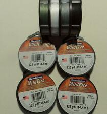 Beadalon Wildfire 0,15 mm 114,4 M negro, gris, blanco o verde 035926136380