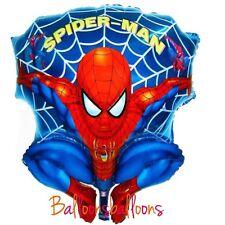 "Spiderman Superhero Marvel Foil Balloon Helium Party Birthday 28"" large"