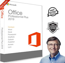 Microsoft®Office 2019 Professional Plus 💻1user📬Lifetime Licence