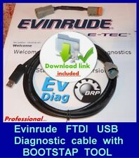 PROFESSIONAL EVINRUDE ETEC E-TEC  diagnostic kit with EMM programming bootstrap