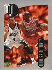 1998 Upper Deck MJ Sticker Collection Bulls #113 Michael Jordan & Penny Hardaway