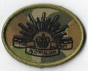 Army Australian DPCU Rising Sun Biscuit Patch