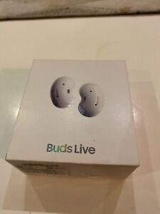 Samsung Galaxy Buds Live Bluetooth ANC Earbuds - Mystic White