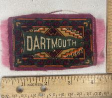 Early 1900s tobacco cigarette felt Dartmouth College! Hanover New Hampshire