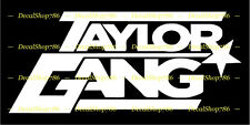Taylor Gang - TGOD - TGOE - Vinyl Die-Cut Peel N' Stick Decals / Stickers
