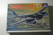 Italeri 022 Junkers JU-88 C-6 Heavy German Fighter 1:72  Neu OVP
