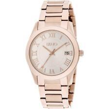 Orologio Donna LIU JO Luxury ROMANA TLJ1296 Bracciale Acciaio Rosè Romans 35mm