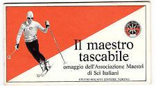 IL MAESTRO TASCABILE ASSOCIAZIONE MAESTRI DI SCI GIULIO BOLAFFI 1974 9-20