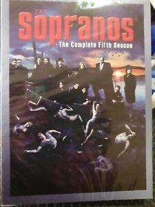 The Sopranos : Season 5 DVD SET - BRAND NEW AND SEALED - REGION 1- FREE POST