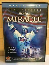 JIM CRAIG MIRACLE MOVIE DVD SIGNED USA OLYMPICS HOCKEY ICE NHL AUTOGRAPHED