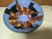Westcote Bell Ceramics V. Smith Cat Bowl