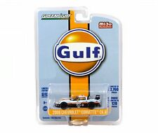 GREENLIGHT 1:64 MJ EXCLUSIVES 2009 CHEVROLET CORVETTE C6.R GULF RACING CAR 51128