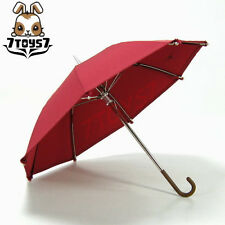 Wild Toys 1/6 _ Burgundy Red Umbrella _Fashion Foldable Working  WT010I