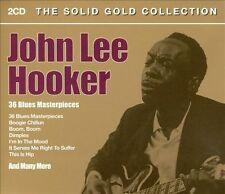 John Lee Hooker- The Solid Gold Collection 2 cd set, U.K. import, 36 tracks