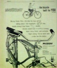1958 Murray (SPEED-WEIGHT) Boys Bicycles,Bike Memorabilia Trade Print AD