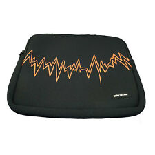 "Targus 15.4"" 15 inch Notebook Laptop MacBook Skin Sleeve Case Black/Orange NEW"