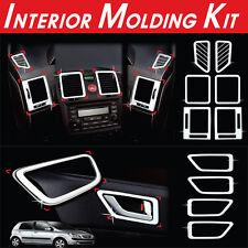 Chrome Interior Molding Kit 10Pcs 1Set For Hyundai Getz Click 2002-2011